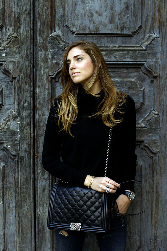 Chiara Ferragni: 100% Basic Turtleneck Sweater