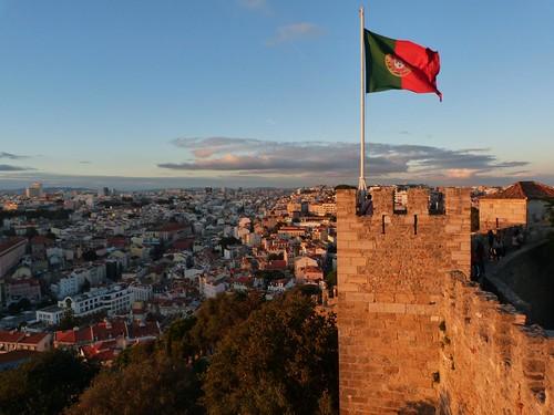 Vistas desde el Castillo de San Jorge (Lisboa)