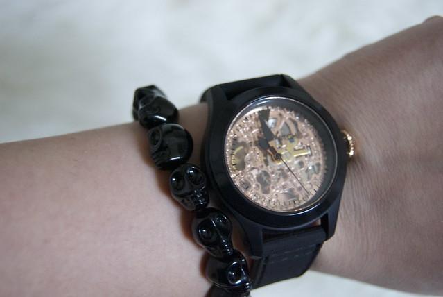 toywatch skeleton watch