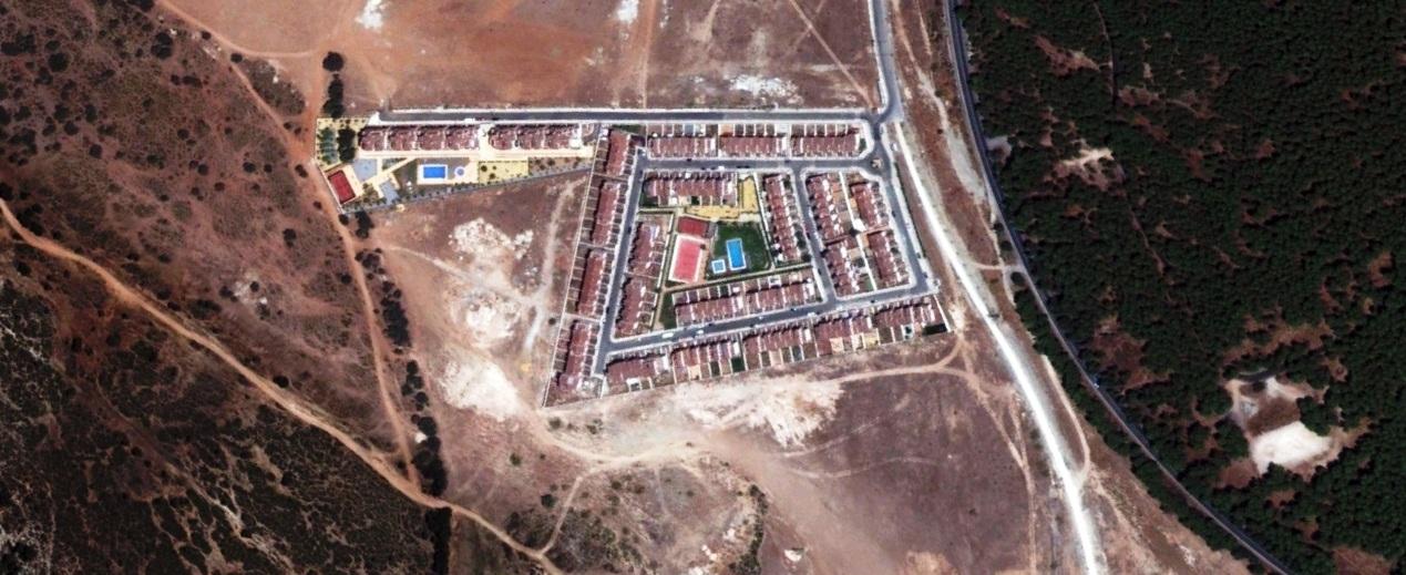 después, urbanismo, foto aérea,desastre, urbanístico, planeamiento, urbano, construcción,Pantano de Cubillas, Granada
