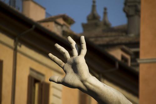 [3999] Piazza Navona, Fontana dei Quattro Fiumi (dettaglio)