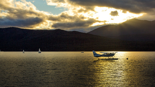 sunset newzealand lake holiday plane dusk nz teanau fiordland laketeanau thegalaxy naturesgallery projectweather mygearandme blinkagain greystump inspiringcreativeminds groupscapes copyrightcolinpilliner