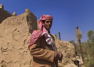 HOMME DE NAJRAN, ARABIE SAOUDITE