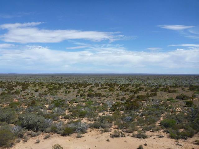 A hilltop view
