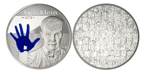 Yves Klein coin