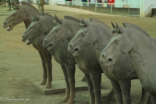 Terracotta Warriors, Xian '11-03