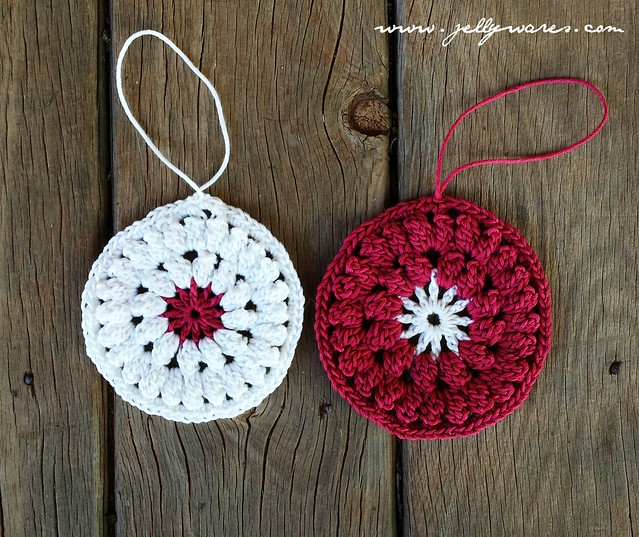 crochet ornaments 1