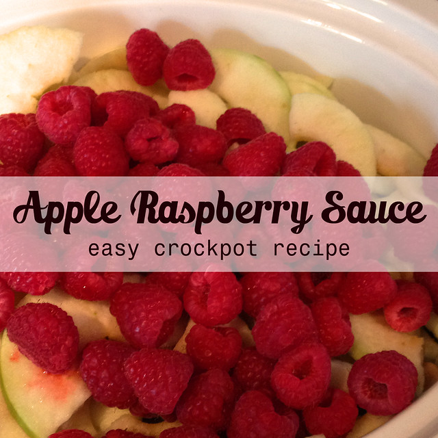 Apple Raspberry Sauce