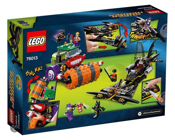 LEGO Super Heroes 76013 - Batman: The Joker Steam Roller