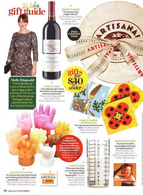 Handsoap in People Magazine's Holiday Gift Guide!