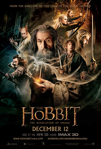 Filem THE HOBBIT: THE DESOLATION OF SMAUG