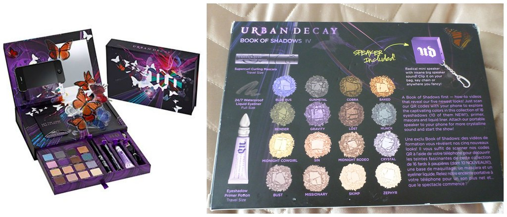Urban Decay book of shadows iv 4 eye australian beauty review blog blogger ausbeautyreview swatch primer potion eyeliner mascara cosmetics makeup pretty beautiful 3
