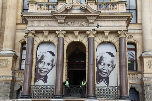 CAPE TOWN CITY HALL. SOUTH AFRICA.