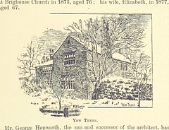 "British Library digitised image from page 317 of ""The History of Brighouse, Rastrick and Hipperholme; with manorial notes on Coley, Lightcliffe, Northowram, Shelf, Fixby, Clifton and Kirklees ... One hundred and seventy illustrations. Incorporation memori"