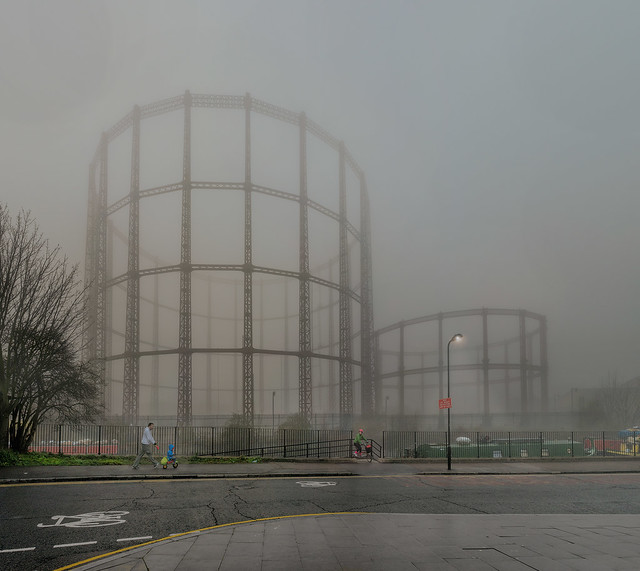bethnal green gasometers 2013