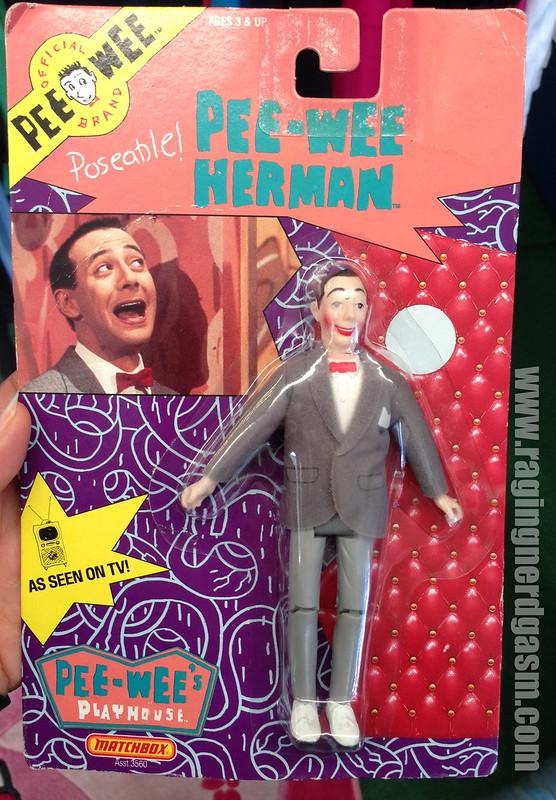 Matchbox Pee-Wee Herman Carded figure