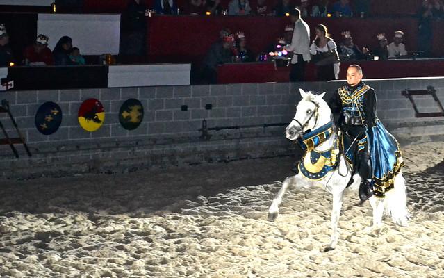 Medieval  Times Orlando Florida - horse performances