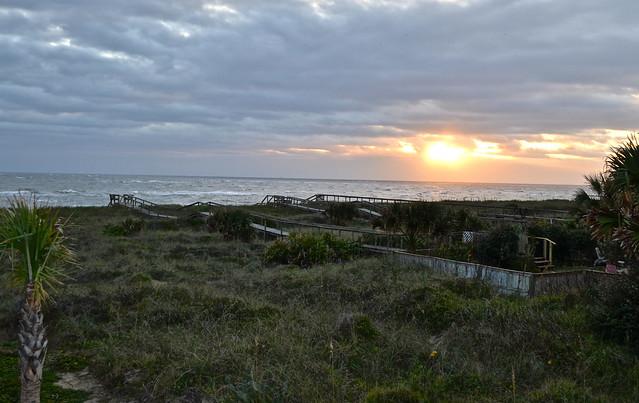 Vilano Beach sunrise