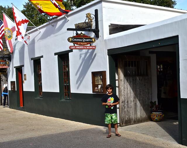 colonial quarter st augustine florida