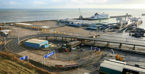 Dover Eastern Docks: Christmas Day 2013
