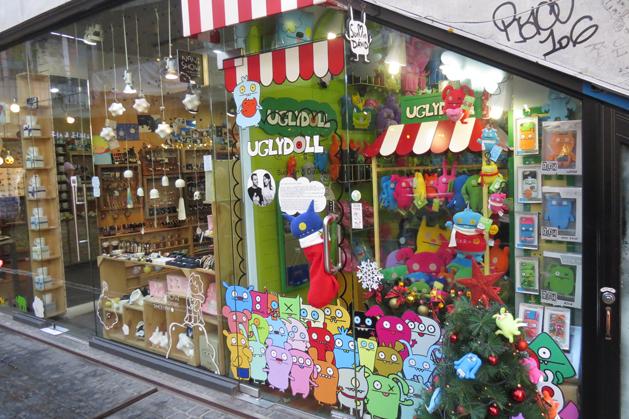 Ssamziegil裡的特色店家