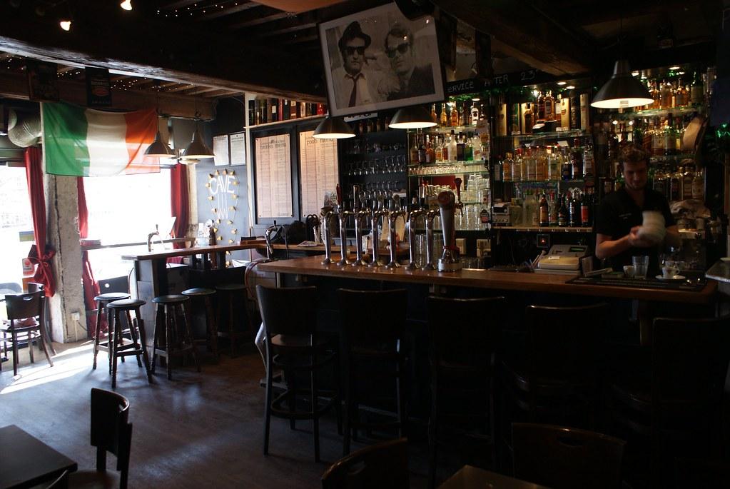 Pub irlandais à Lyon saint-George dans le vieux Lyon