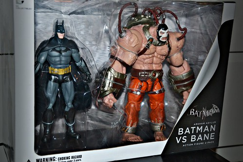 Batman Arkham Asylum: Batman vs Bane