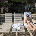 Emily relaxing
