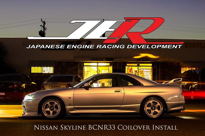 The Nismo 400R Coilover Install: Nissan Skyline BCNR33 - JER Development