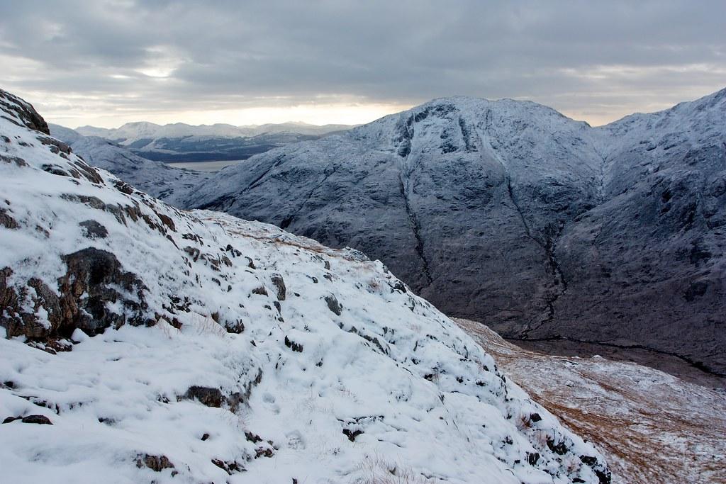 Across Glen Gour from Beinn na h-Uamha