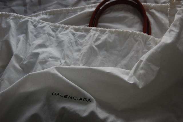 Balenciaga 2012 beach bag