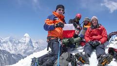 Nasza ekipa na Island Peak 6189m