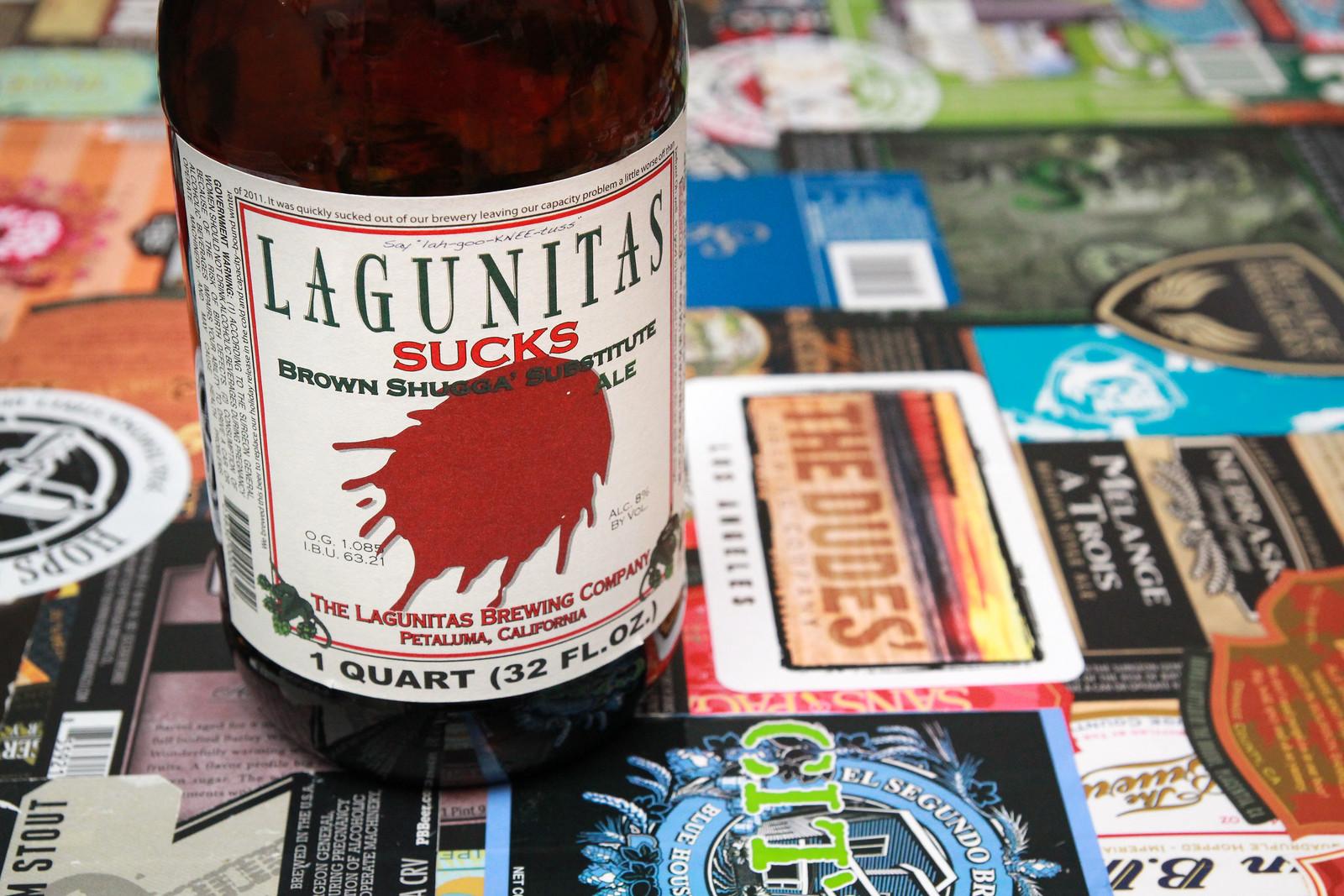 New Brew Thursday : Lagunitas Sucks : Lagunitas Brewing Company : with special guest David Gillanders