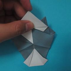 วิธีการพับกระดาษเป็นรูปนกเค้าแมว 023
