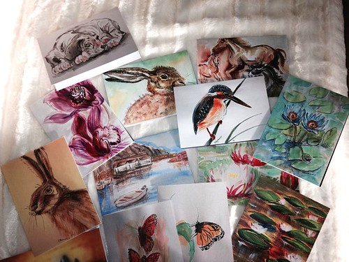 Greeting Cards; new set by Sparrow Little