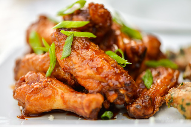 Sweet and Spicy Korean Chicken Wings