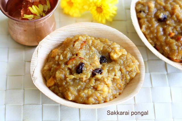 Sakkarai pongal