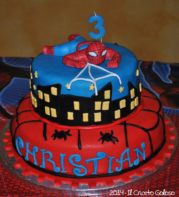 Torta Spiderman 3