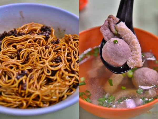 Collage Soong Kee Beef Noodles