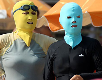Chinese Facekini
