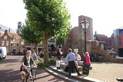 Het Vrouwenkerkhof in Leiden