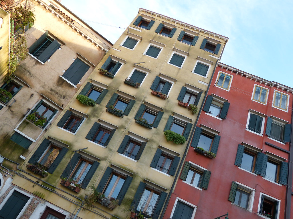 Tall Houses - Ghetto (Venice)