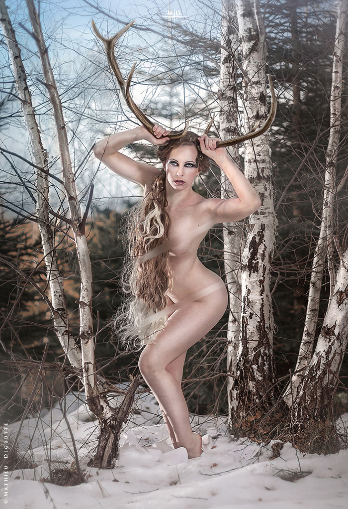 Antlers and nude chicks picture 618