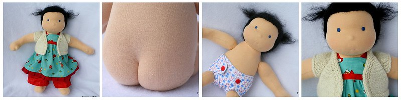 """Custom Freckles and Frills 15"""" Doll"""