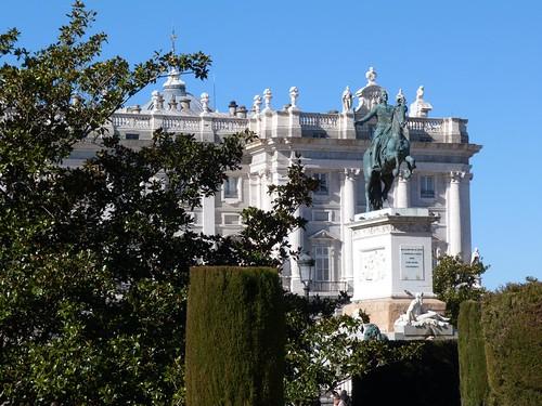 El Palacio Real de Madrid (Madrid desde un segway)