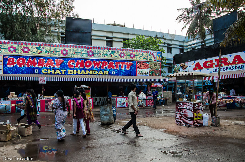 Bombay Chat Hyderabad Numaish Grounds
