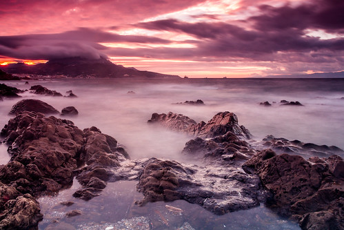 longexposure sunset sea españa costa storm clouds canon landscape atardecer coast mar spain rocks waves purple cloudy paisaje nubes tormenta nublado dslr olas rocas ceuta purpura largaexposicion 60d carlosalarios