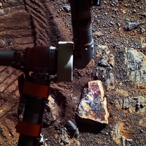 Opportunity sol 3571 PanCam - Stuart Island