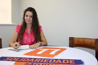 Alinny Sartório, de Ibitinga, é pré-candidata do Solidariedade a deputada federal