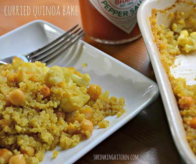 curried quinoa bake